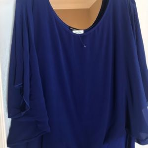 New with tag bat wing blouse